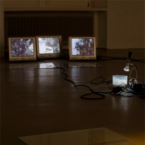 """Image: www.weserburg.de, """"Further Away (Music For The Glance Downwards)"""", 2008"""