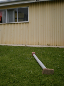 Backyard Pipe