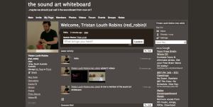 Soundart whiteboard