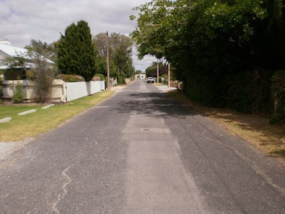 Field Street, Normanville - January 2011