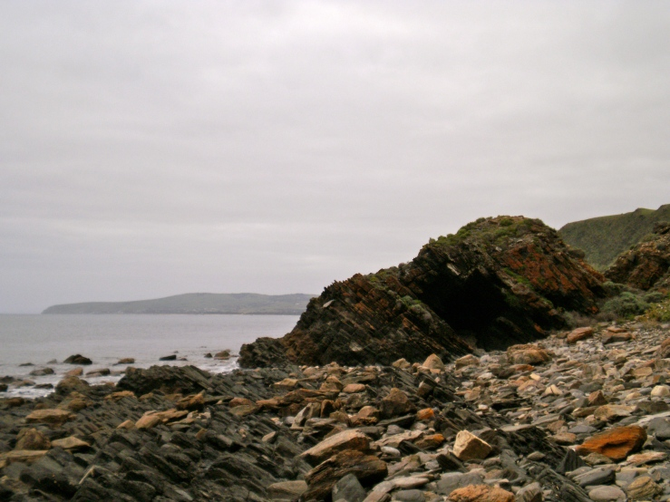 Near Wirrina Cove (looking north towards Normanville and Carrickalinga) - July 2011